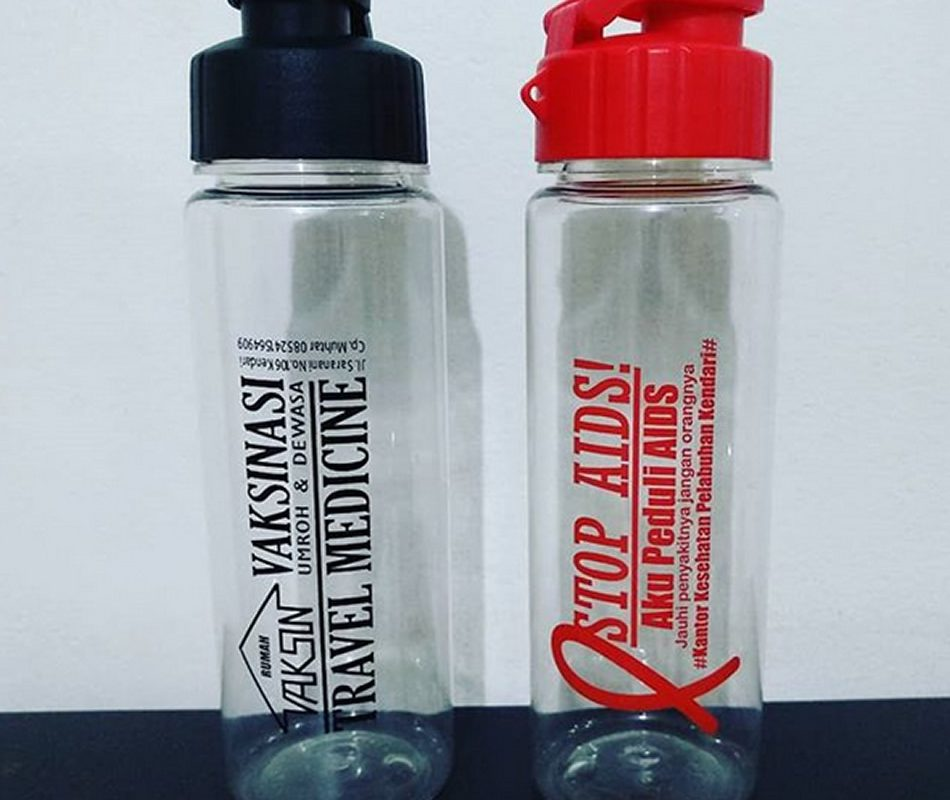 My Bottle Vaksinasi dan Stop Aids