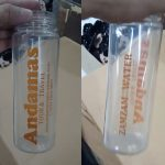 My Bottle Costum Sablon Andamas Tour & Travel - Zamzam Water